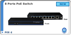 POE-0801-120, 8 Ports POE Switch
